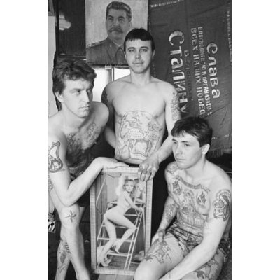Russian Mafia Tattoos Labels: Russian Criminal Tattoo