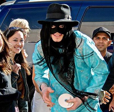 michael jackson masked
