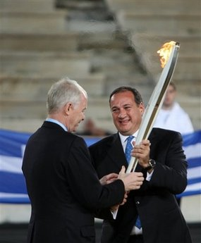 Greece Vancouver Olympic Flame