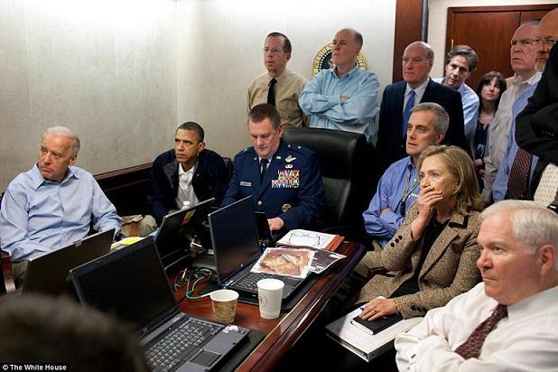 Osama Operation White House Situation Room