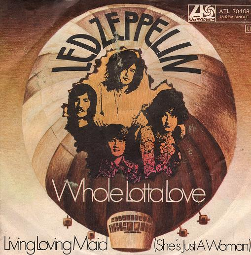 Led Zeppelin - Whole Lotta Love - Front