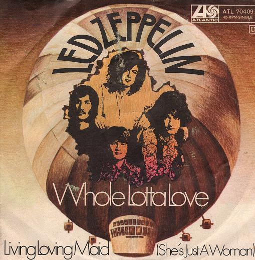 Led Zeppelin - Whole Lotta Love - Front